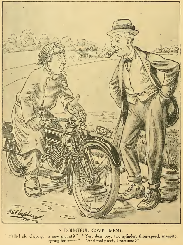 CARTOONS 1914 FOOLPROOF AW