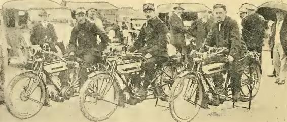 1914 FRENCH TRIUMPHS