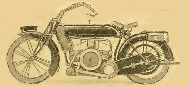 1914 HUMBER FLAT