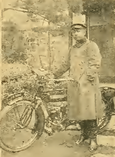 1914 JAP RIDER