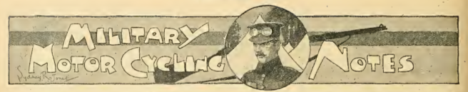1914 MILITARY MC NOTES AW