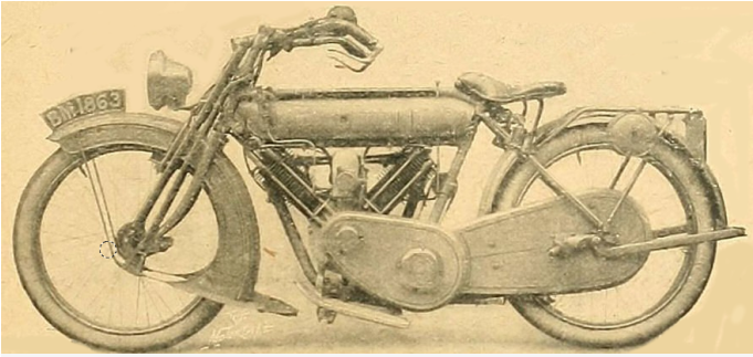 1914 P&M VTWIN