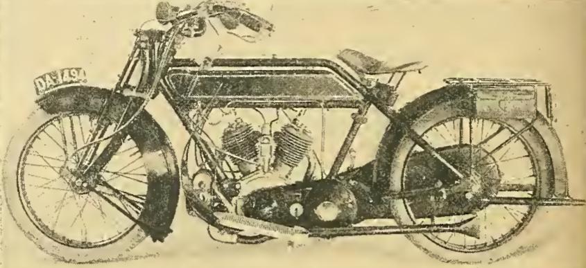 1914 SUNBEAM TWIN