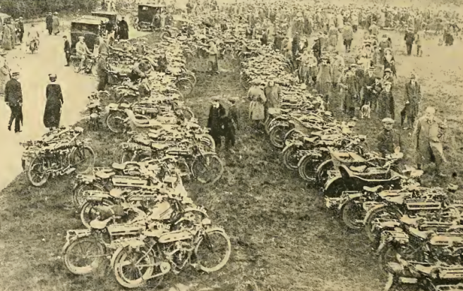 1914 WIMBLEDON RALLY