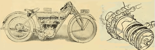 1915 MATCHLESS RACER