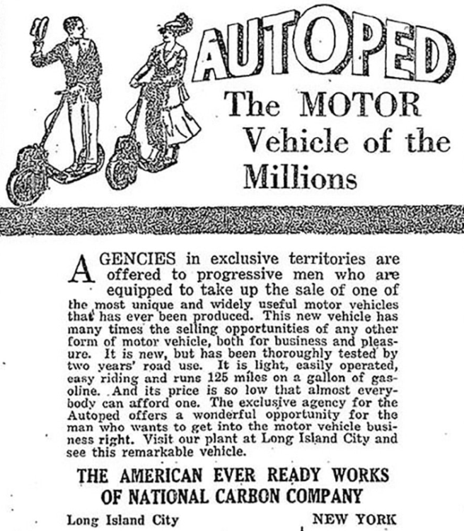 1915 AUTOPED AD