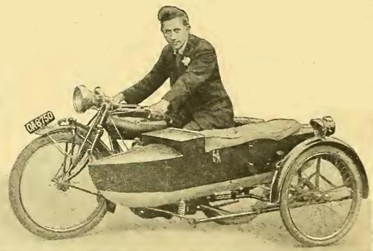 1915 BOAT SIDECAR