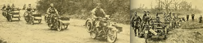 1915 CLYNO CONVOY