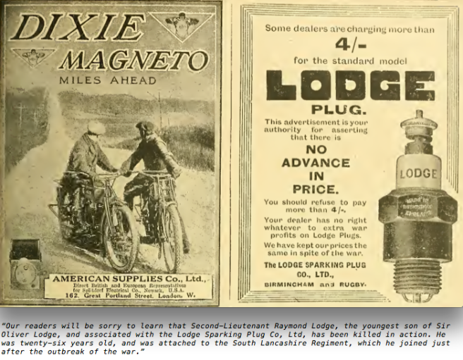 1915 DIXIE LODGE AD