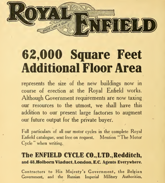 1915 ENFIELD AD