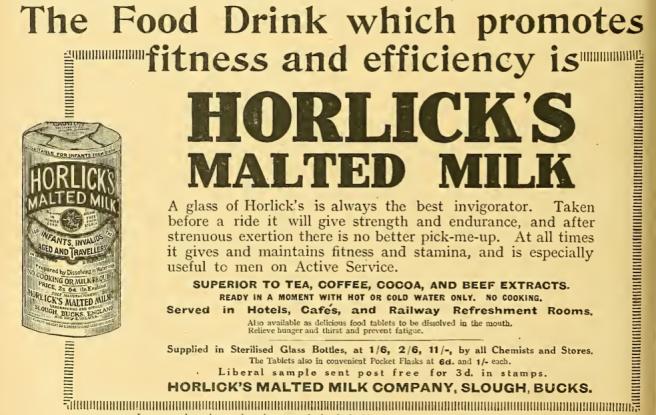 1915 HORLICKS AD