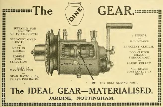 1915 JARDINE BOX AD