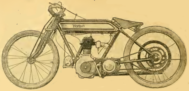 1915 NORTON RACER
