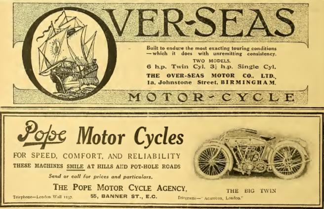 1915 OVERSEAS-POPE AD