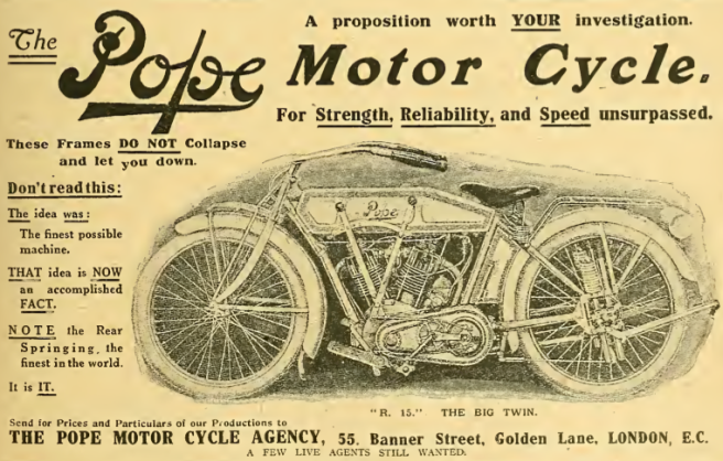 1915 POPE AD