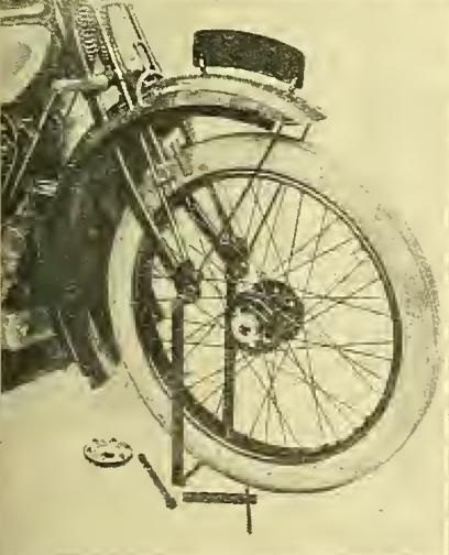 1915 QD AJS WHEEL