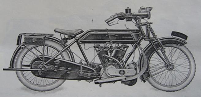 1915 SUNBEAM 8HP