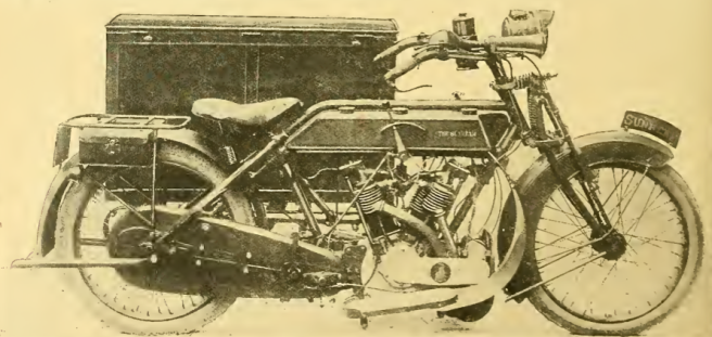 1915 SUNBEAM TWIN