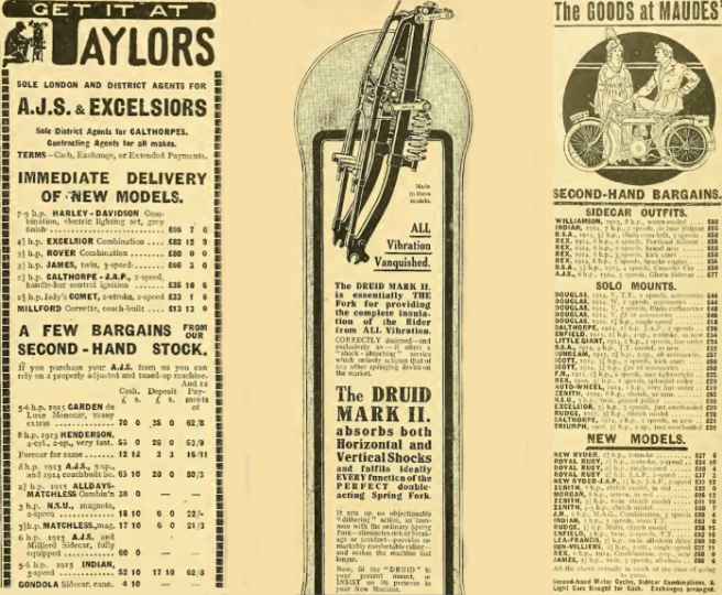 1915 THREE ADS