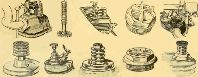 1915 VALVE CAPS