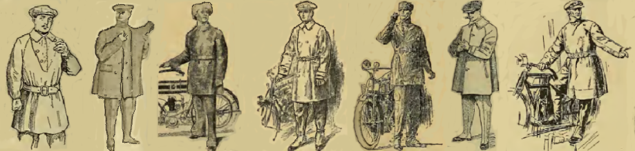 1916 RIDING GEAR