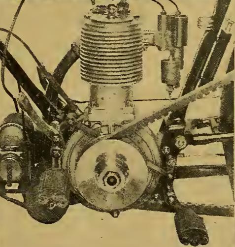 1914 WARDLE ENGINE
