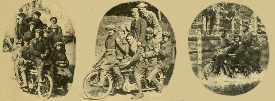 1916 3 GROUPS