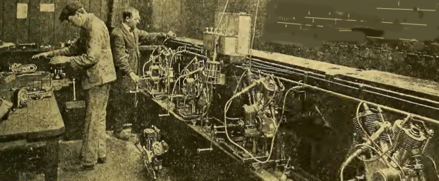1916 AJS GAS ENGINES