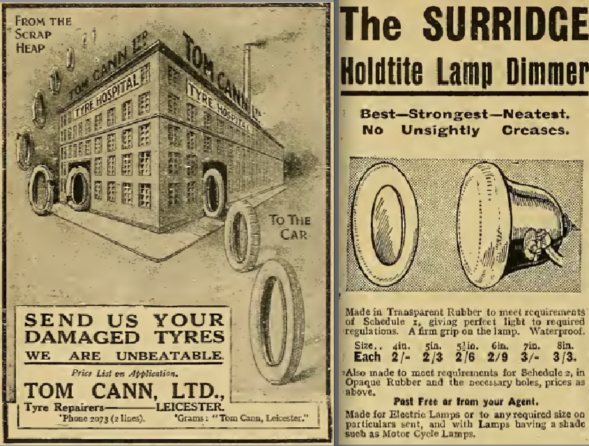 1916 CAN DIMMER ADS