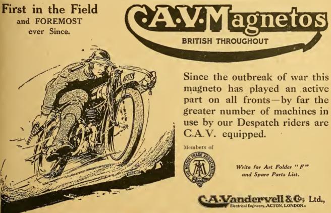 1916 CAV AD