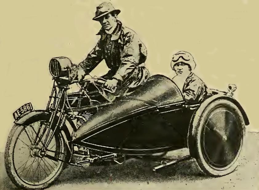 1916 BRUM TRIAL KICKHAM