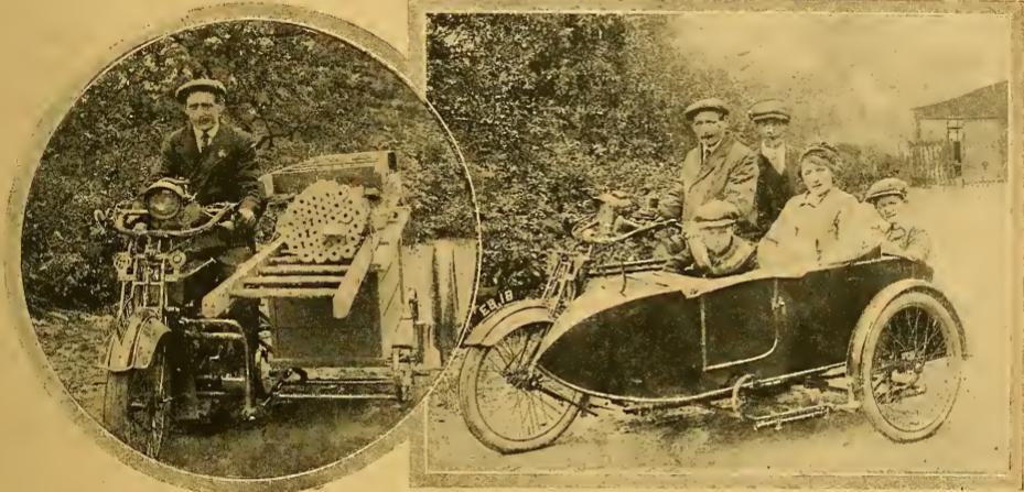 1916 DECORATOR SIDECARRI