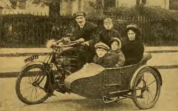 1916 FAMILY SIDECAR