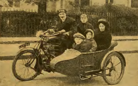 1916 FAMILY SIDECAR