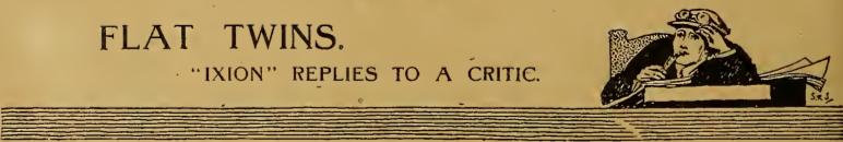 1916 FLAT TWIN IXION AW
