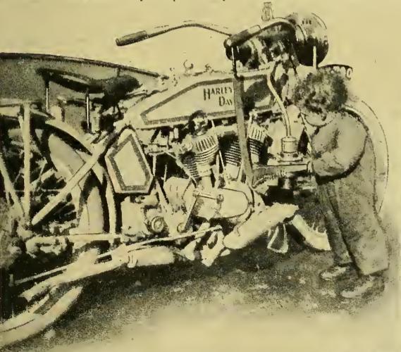 1916 HARLEY TOT