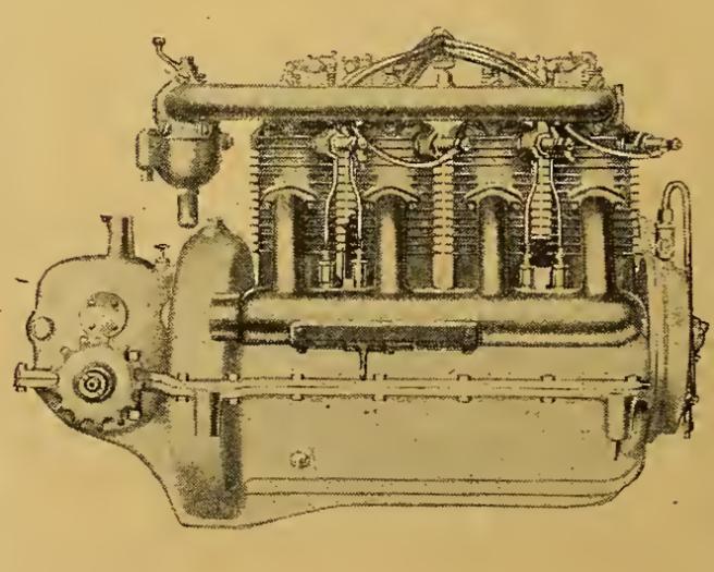 1916 HENDERSON ENGINE