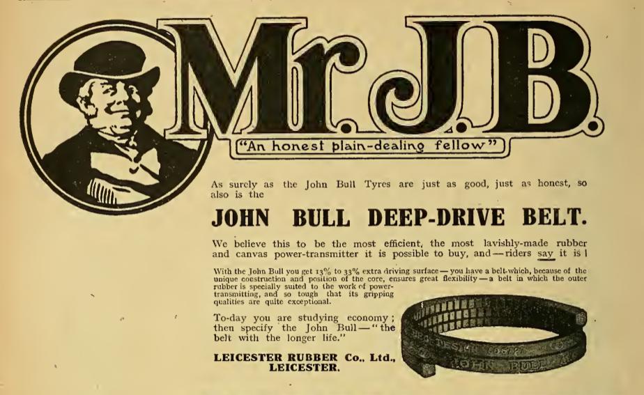 1916 JOHN BULL AD