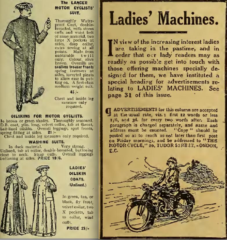 1916 LANCER LADIES ADS