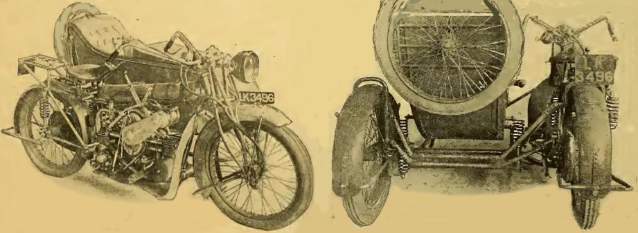 1916 MATCHLESS FLAT