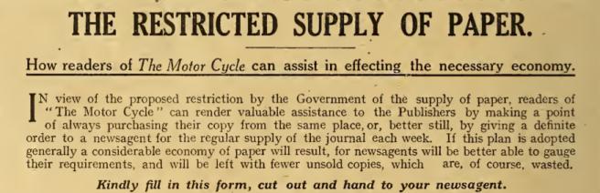 1916 PAPER AD