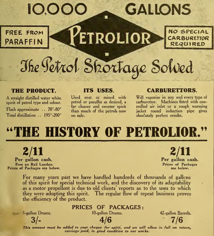 1916 PETROLIOR