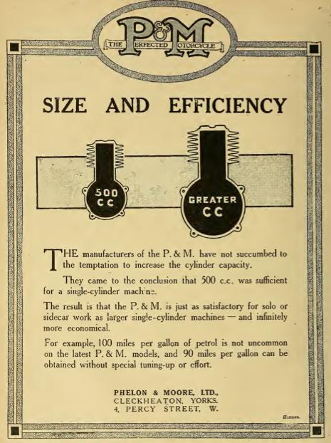1916 P&M AD