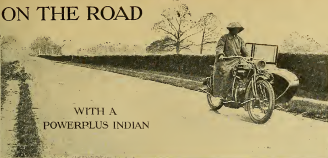 1916 POWERPLUS INDIAN TEST
