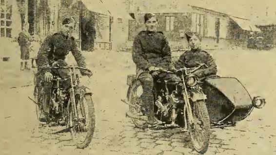 1916 RFC RIDERS