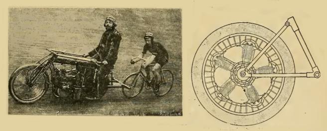 1916 ROTARY WHEEL