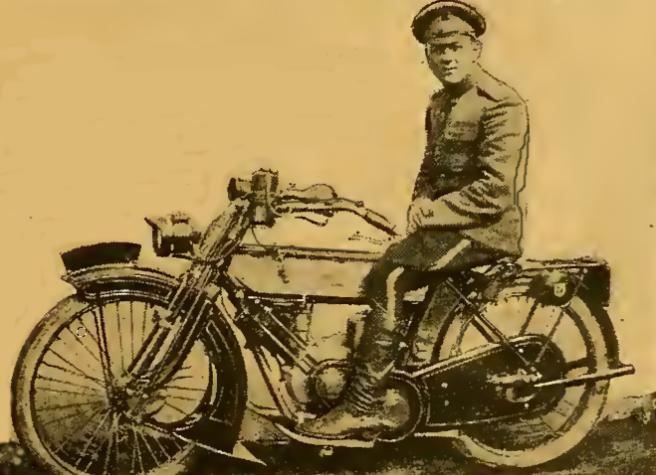 1916 RUSSIAN RIDER