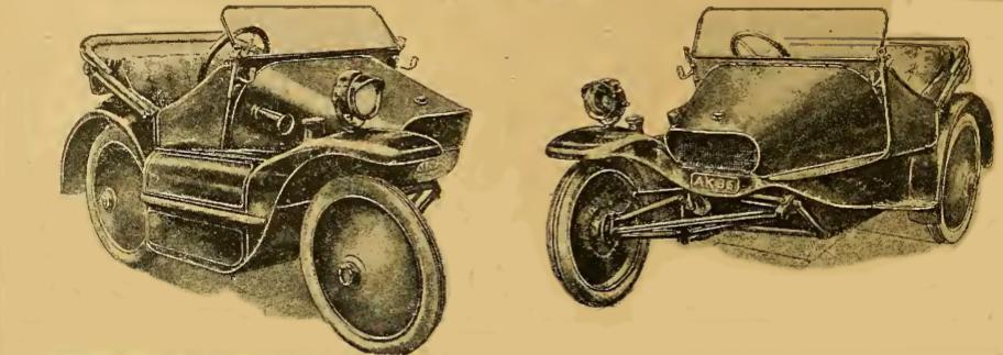 1916 SCOTT SOCIABLE