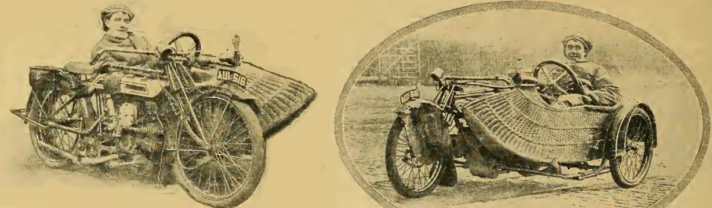 1916 SIDECAR STEER