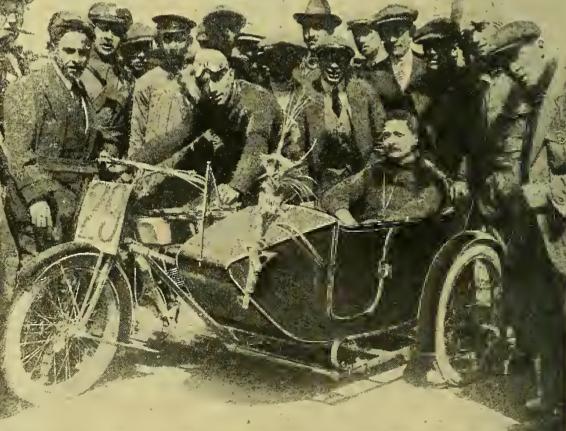 1916 SPANISH RACING COMBO